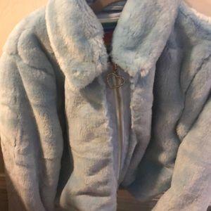 Unif blue cam jacket